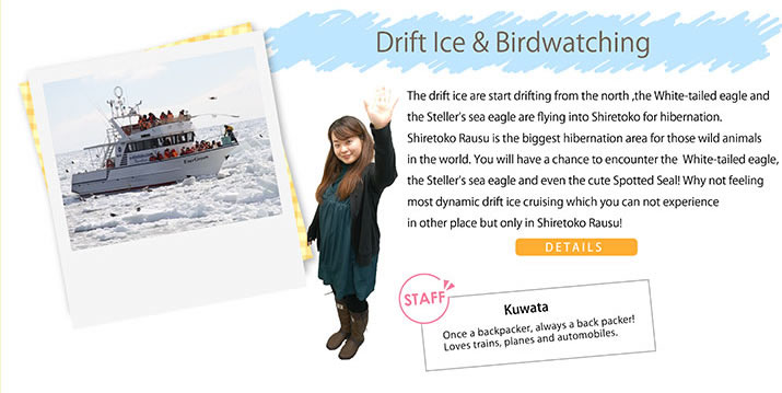 Drift Ice & Birdwatching