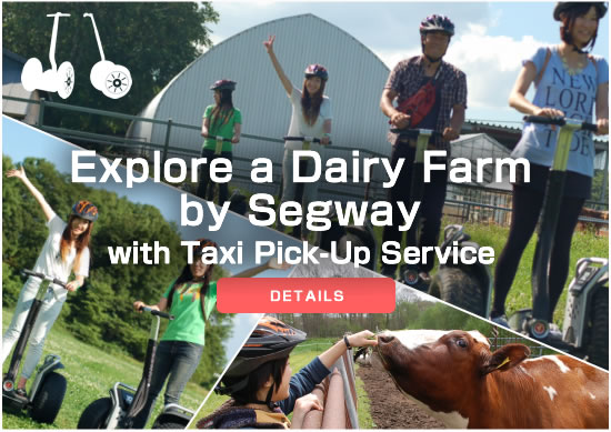 Explore a Dairy Farm by Segway with Taxi Pick-Up Service