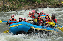 [Niseko] Rafting on Niseko's Shiribetsugawa River !