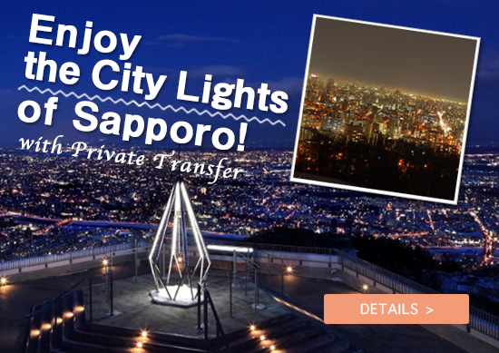 Enjoy the City Lights of Sapporo, with Private Transfer