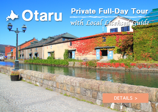 Otaru Private Full-Day Tour with Local Licensed Guide (from Sapporo)