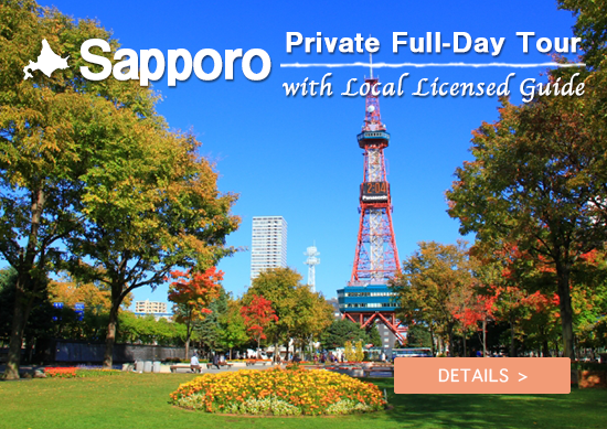 Sapporo Private Full-Day Tour with Local Licensed Guide