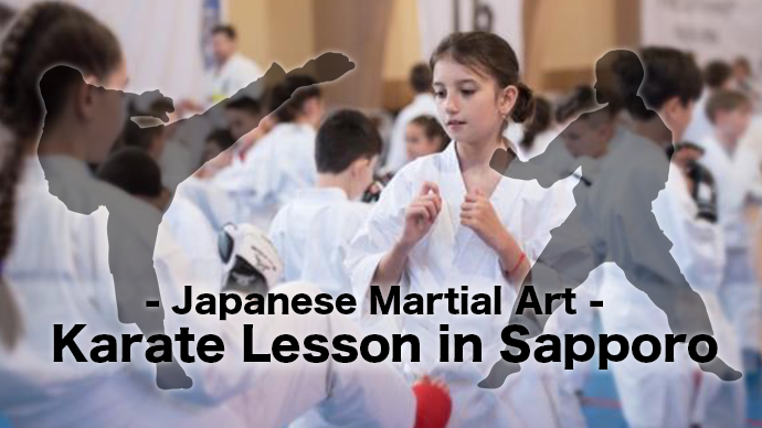 Japanese martial art Karate Lesson in Sapporo