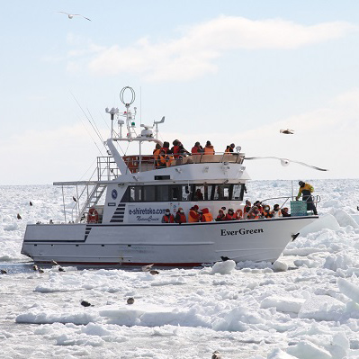 Shiretoko Drift Ice Cruise
