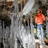 [Pick-up from Sapporo]The Cave of Ice Stalagmites Adventure