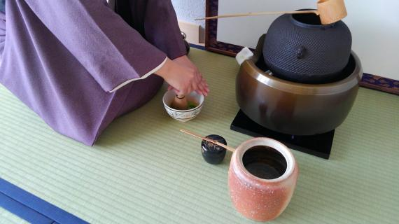 The graceful and peaceful Tea ceremony